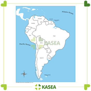 Kasea montessori world map puzzle labeled south america control kasea montessori world map puzzle labeled south america control map gumiabroncs Images