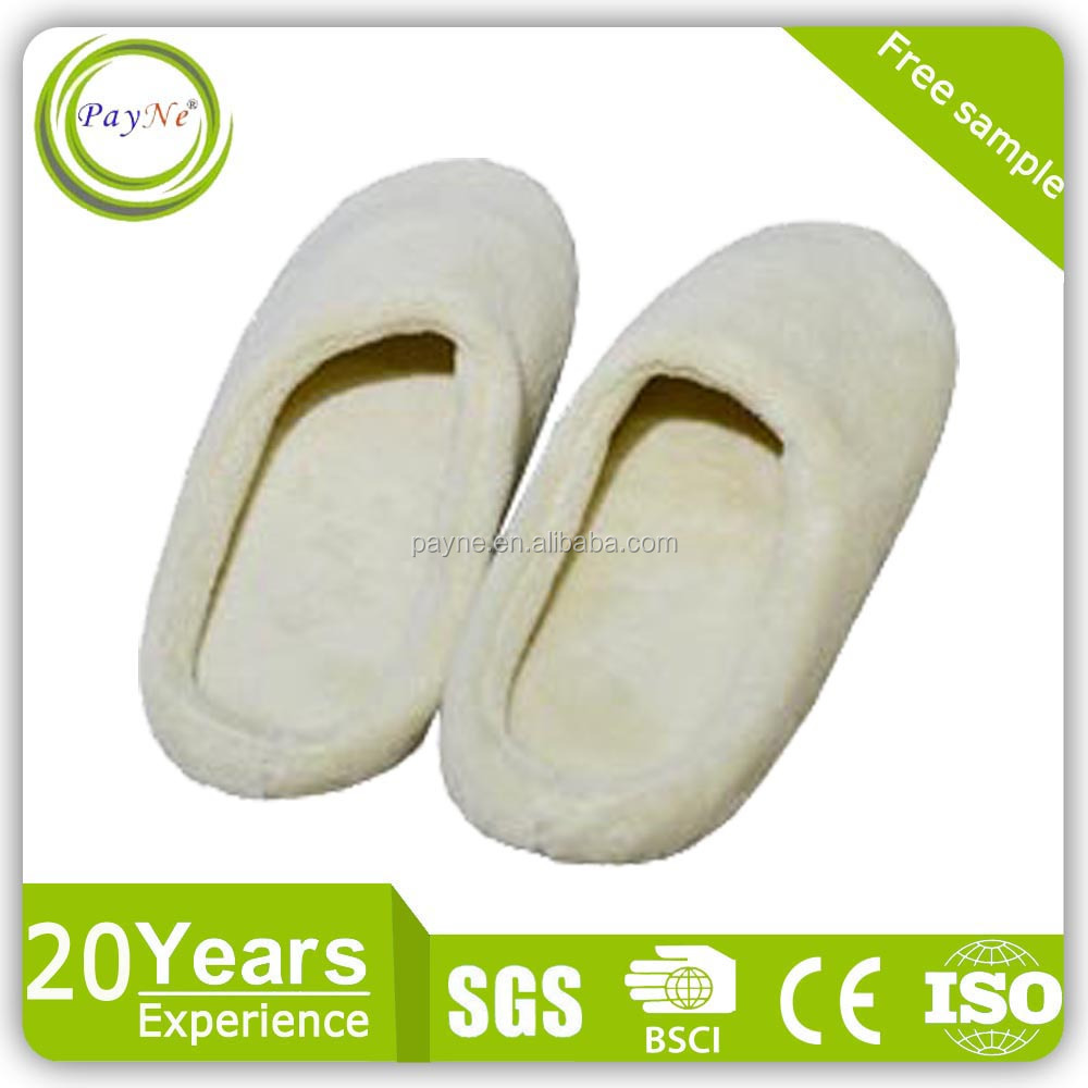 Indoor room luxury soft eva disposable hotel guest slippers