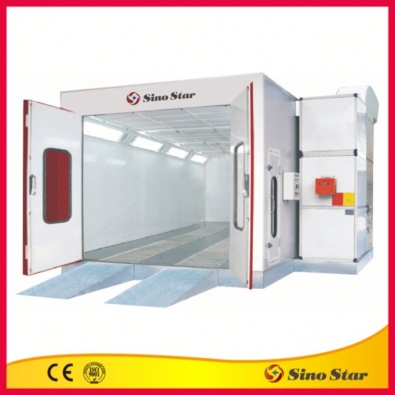 Home use riello g2 spray booth with exhaust fan