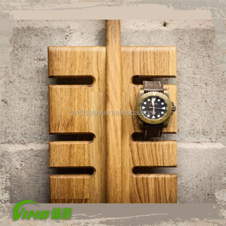 Fantastic Handmade Luxury Women Wall Mount Wood Fitbit Smart Watch Holder  LD04