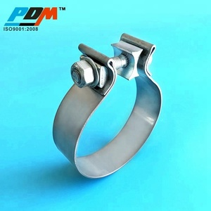2.25 inch Heavy Duty O Type Tractor Exhaust Muffler Clamp