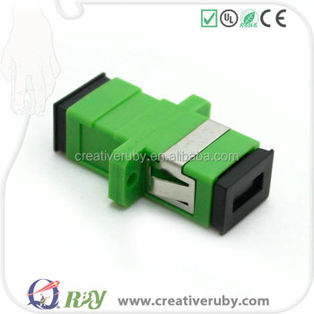 Fc/sc/lc/st Single/multi Mode Fiber Optical Adapter/adaptor For Connecting  Reliable Fiber Coupler/adaptor - Buy Single Mode Fiber Optic Splitter