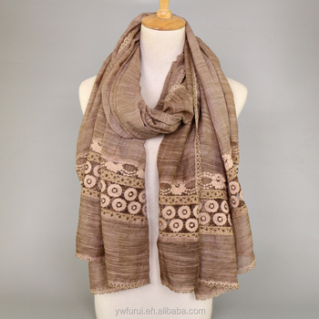 b5dcd5cca98 Hot Sale Cotton Lace Scarf Tie Dye Hijab Shawls Flower Muslim Lady Scarves  Plain Solid Color - Buy Tie Dye Lace Hijab,Arabic Ladies Scarf,Muslim Scarf  ...