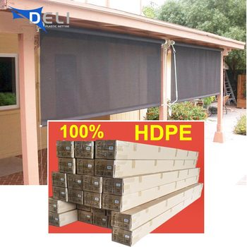 2018 HDPE sun roller blinds lowes outdoor shades