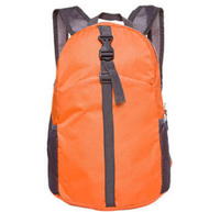 2018 Outdoor travel nylon waterproof folding fashion backpack sports fitness leisure skin bag