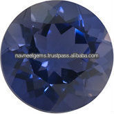 AAA Iolite Round Cut Calibrated Gemstones - Wholesale Loose Iolite Stones Supplier