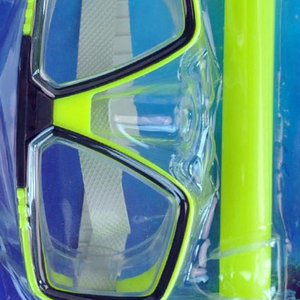 Promotional Scuba mask full dry snorkel diving equipment sets with fins