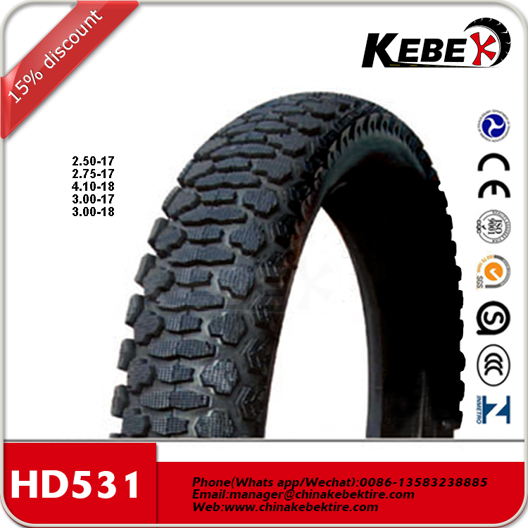 Indonesia tubeless motorcycle tire 80/90-17 factory price