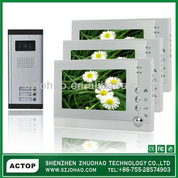 2-12 Multi Apartment Video Intercom System,Video Door Phone Vdp311 ...
