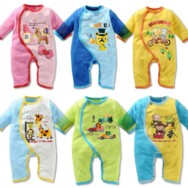 Made in china newborn baby clothes rompers lovely animal toddler romper