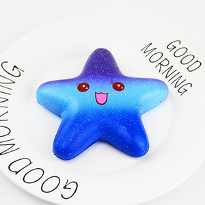 Trend 2018 wholesale star shape squishy toys slow rising for kids