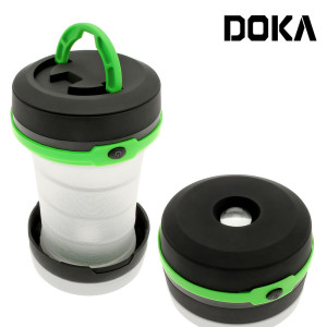 Hiking Outdoor Emergency Outages Collapsible Camping Light Flashlight lamp 2-in-1 Pop Up LED Lantern