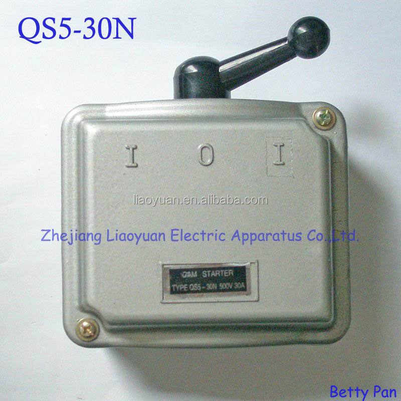 QS5 30N Cam starter and Cam switch