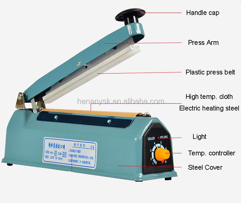 IS-SF-300 Mini Aluminum Manual Sealer Machine For Plastic Bag Food Fillm Sale Philippines