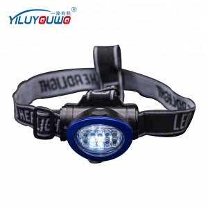 Camping Fishing Hiking Adjustable light Head Lamp 10 Led Headlight