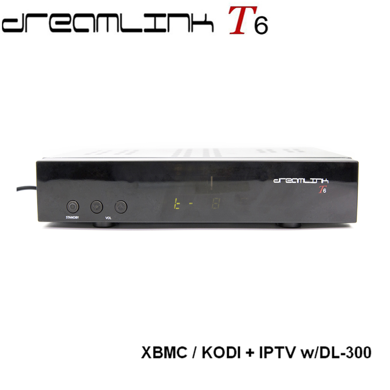 Dreamlink <strong>hd</strong> T6 dreamlink fta receptor satelital built in KODI work in United states ,Canada and Puerto Rica