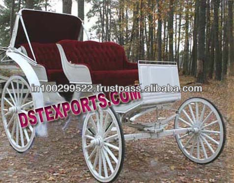 Wedding Victoria Horse Carriage