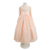 Long Pink Lace Dresses For Kids Children Frocks Designs 4-12 years