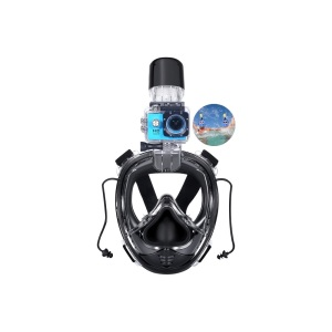 New premium products 2018 swim mask snorkel set and snorkel full, dry top snorkel