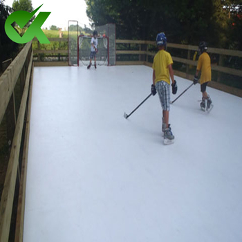 mobile synthetic ice rink 4x8 skating board