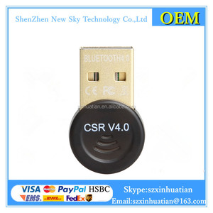 NEW 4.0 micro Bluetooth USB Dongle 4.0 External Bluetooth USB Dongle Free Driver Adapter Bluetooth USB Dongle For Keyboard