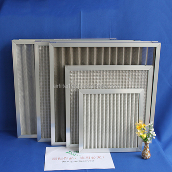 FRS-CXD Factory supply foldaway and plank filter pre-air filter