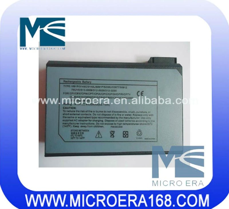 laptop/notebook battery for Dell C640 M50 C840 C80