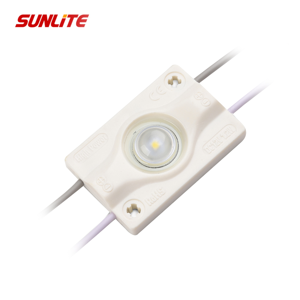 High bright 5 years warranty ABS smd3030 LED Module Lighting with lens