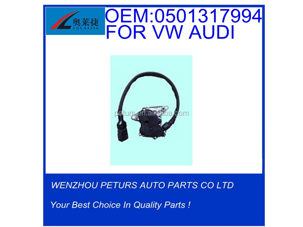 Car gear select stall switch OEM 0501317994 for VW AUDI