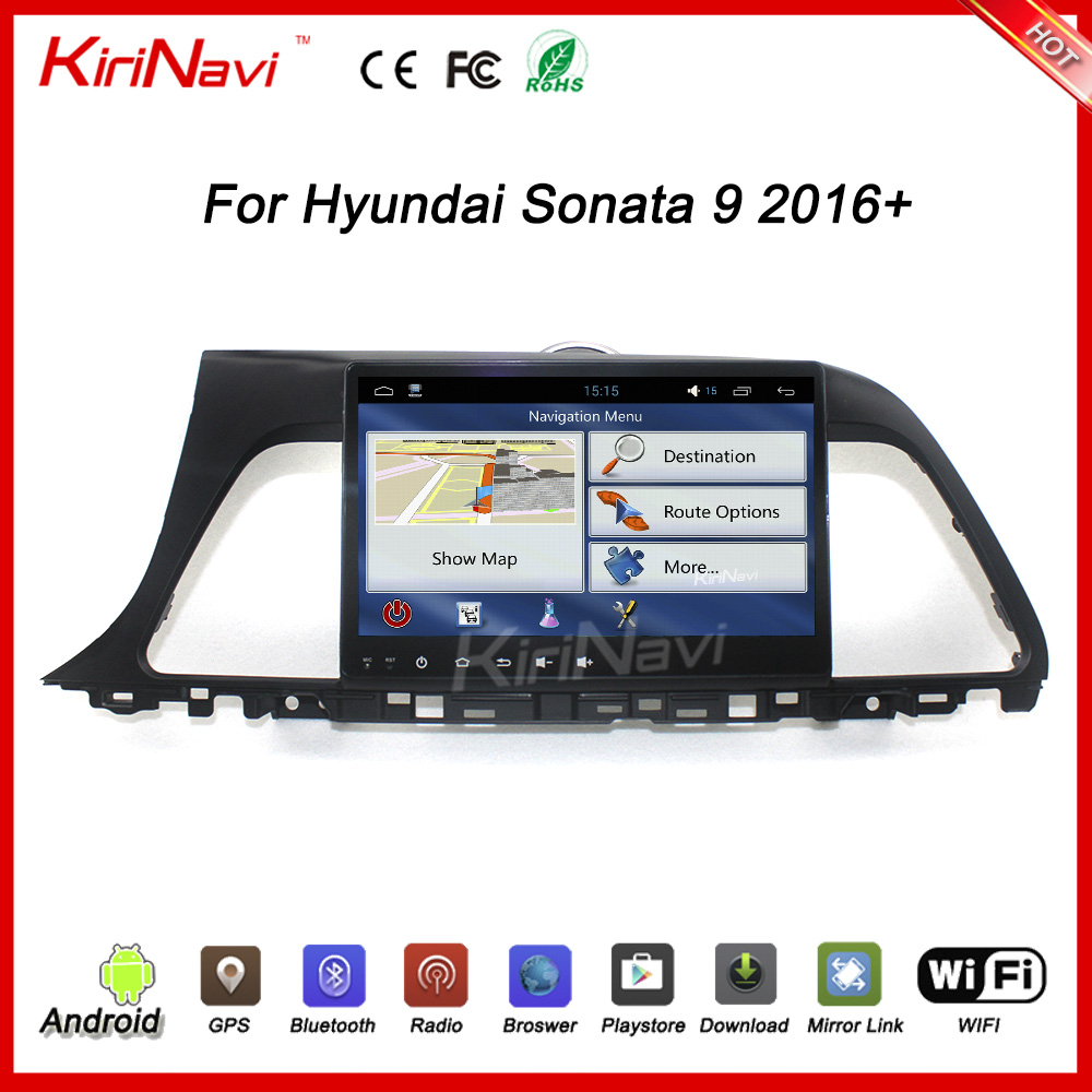 Hyundai Sonata 2016 Car Dvd Player With Navigation, Hyundai Sonata