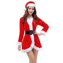 50f170d392db32 Vrouwen Sexy Kerstman Kostuum