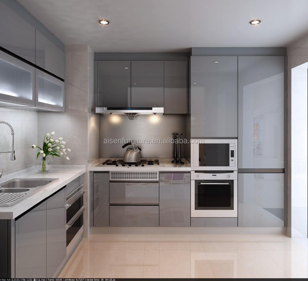 Fabbrica direttamente moderno semplice armadio da cucina con ...