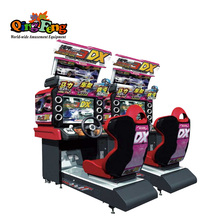 MR-QF209-2 entertainment <span class=keywords><strong>arcade</strong></span> dubbele spelers midnight maximale tune 3dx game machine