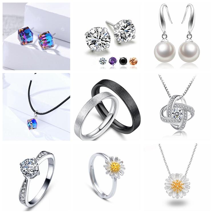 Magazzino lotti NC303 Turco gioielli in argento 925 turchese collana occhio di accessori per i monili delle donne