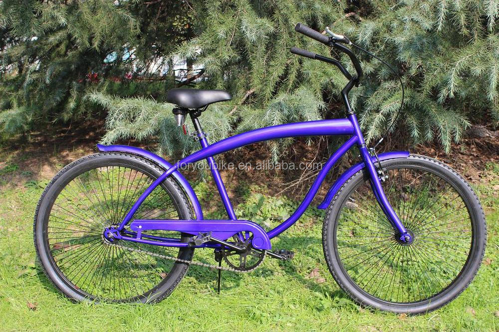 26 inch hot sales men beach cruiser bike beach cruiser bicycle
