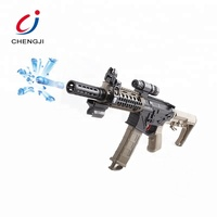 Boy play shooting game crystal water bullet electric gel ball gun for kids
