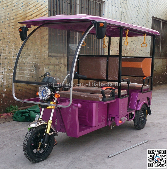 cheap three wheeler adult pedal car/electric rickshaw tuk tuk passenger taxi with 6 seats pric