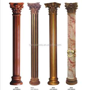 30 years factory directly supplied decorative concrete columns molds stone pillar
