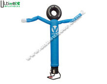 Hot blowout single leg tyre inflatable air dancer