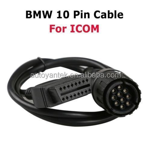 10 Pin To 16 Pin ICOM D Cable ICOM-D Motorcycles Diagnostic Service Cable