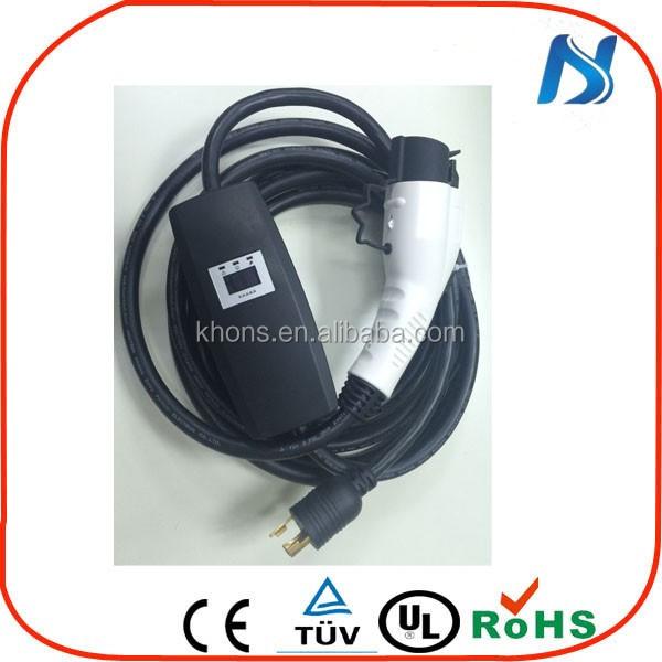 khons j1772 32 amp nema 14-50 ev car charger /type 1 portable ...