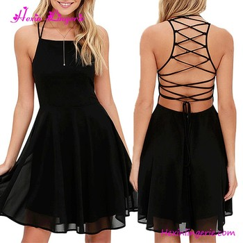 65d1b9bf90b583 Top Quality Import 100% Polyester Good Deeps Maxi Dress Black Lace Skater  Skirt