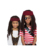 Classic Kids Pirate Scarf Hat With Wig Halloween Fancy Halloween Fancy Dress Costume With Wig Dress Costume With Wig