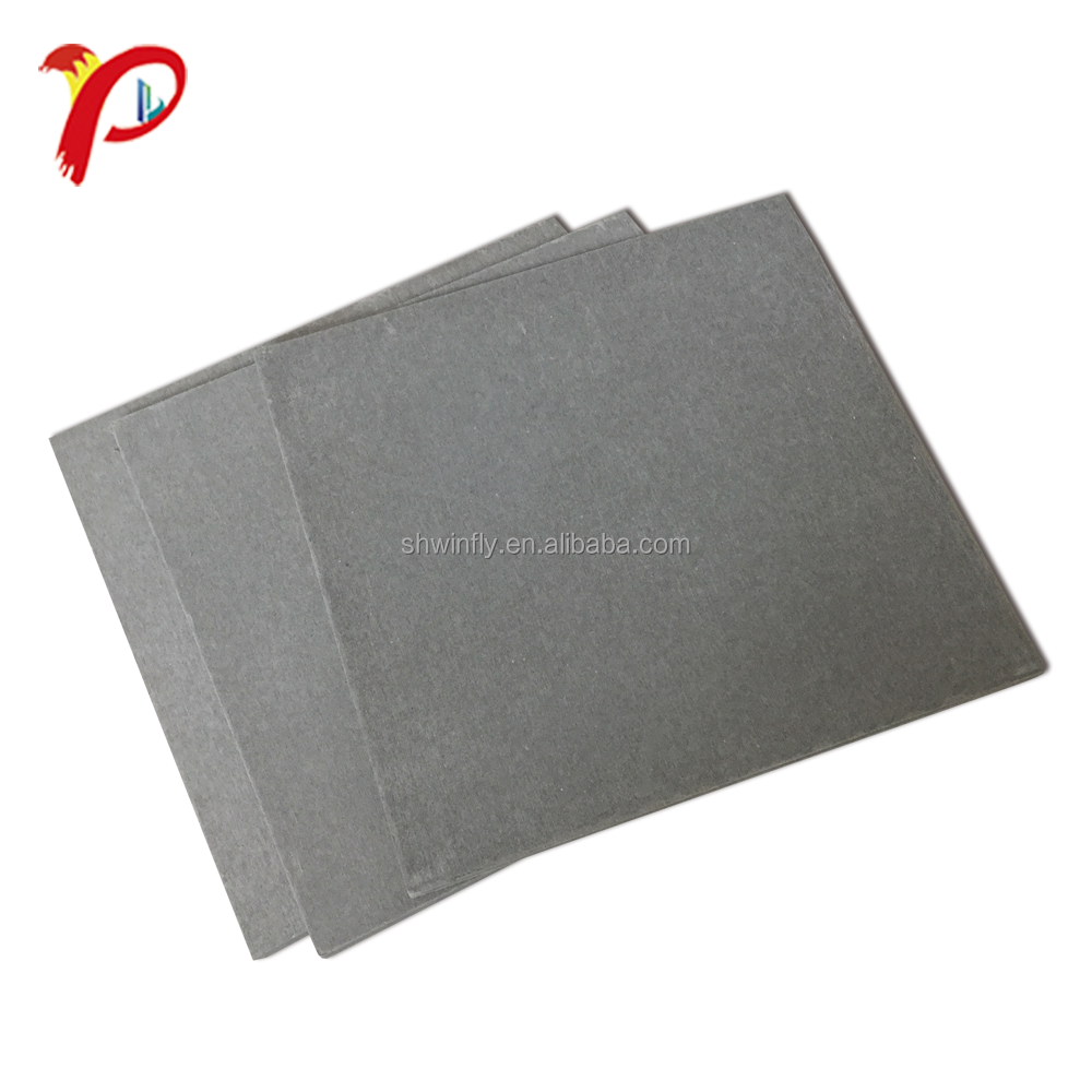 High Strength High Density Fireproof No Asbestos Fiber Concrete Board
