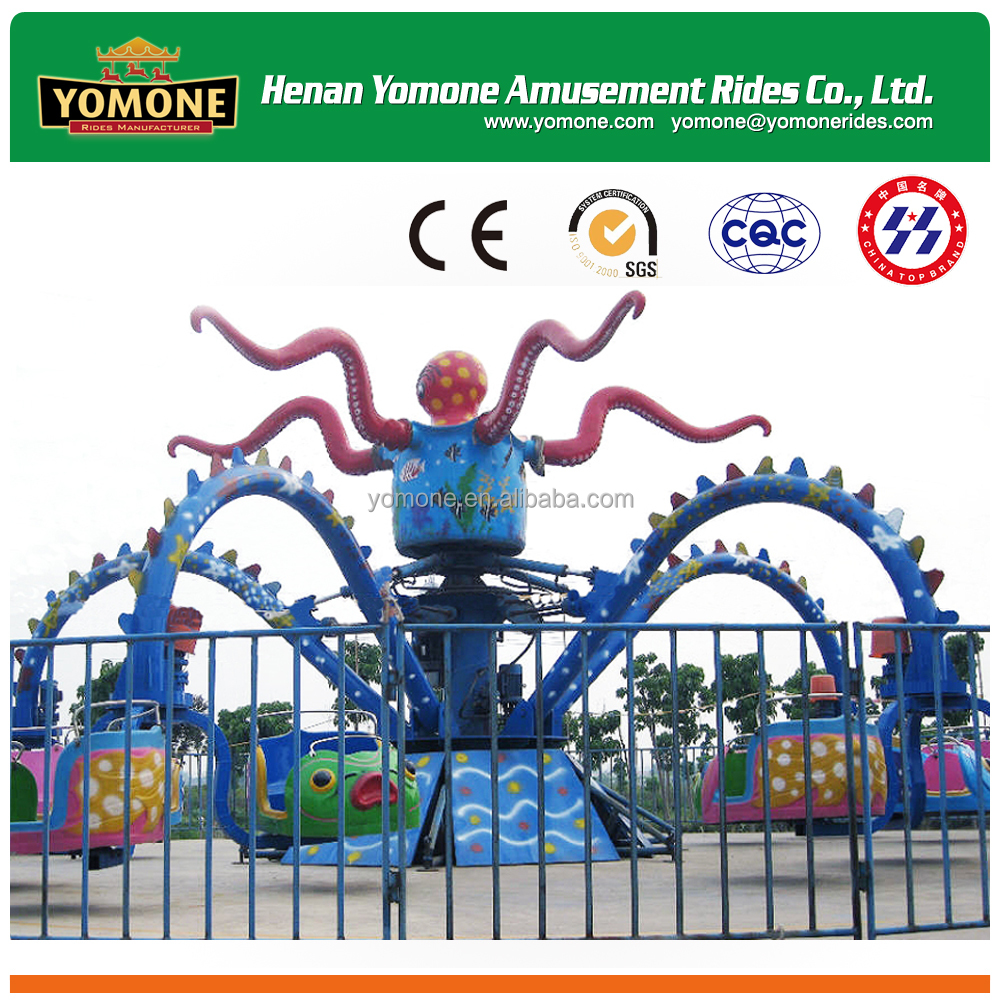 Playground family games amusement park giant octopus rides for sale