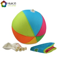 New Design Beach Ball Games Custom Inflatable Beach Ball With Fabric Covered