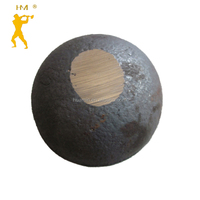 Dia.80 mm 45#/b2/b3 hot rolling steel ball for cement plant