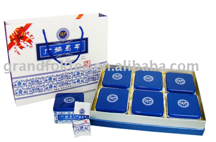2009 Da Hong Pao Gift Tea Box