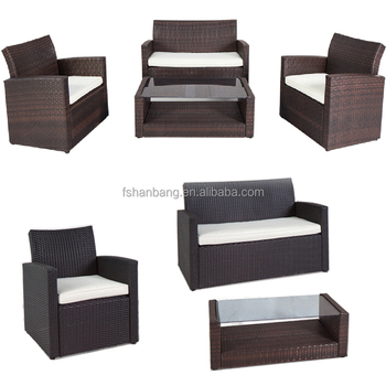 australia hotsale knock down rattan outdoor furniture patio wicker