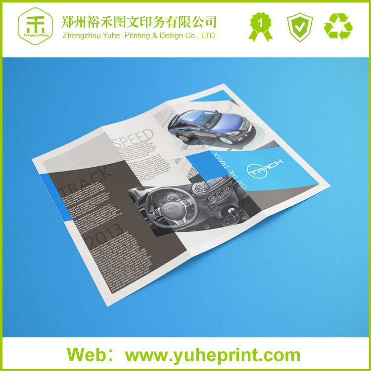 Wholesale promotional professional manufacturer factory a3 size 105g glossy art paper printing cheap world folded map printing